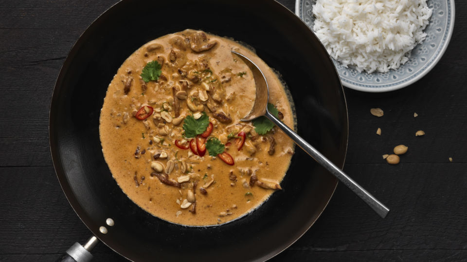 Helppo panang-curry