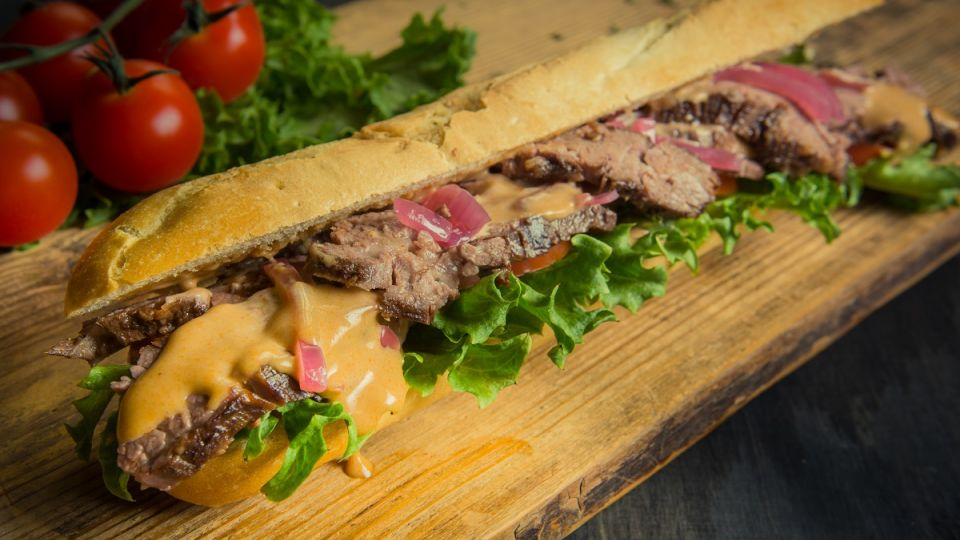 Flank Steak patonki